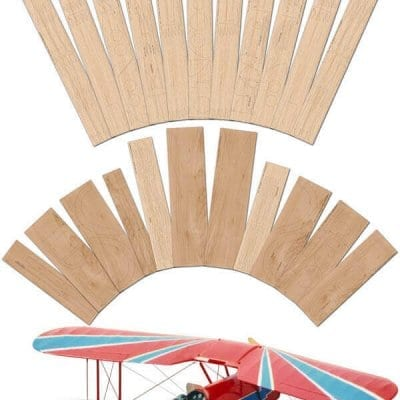"Stampe SV.4B (62"") - Laser Cut Wood Pack"