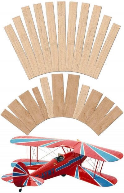 """Stampe SV.4B (62"""") - Laser Cut Wood Pack"""