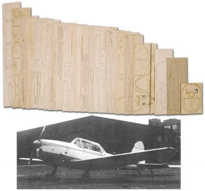 "DCH-1 Chipmunk (68"") - Laser Cut Wood Pack"