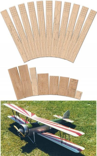 Avro 621 Tutor - Laser Cut Wood Pack