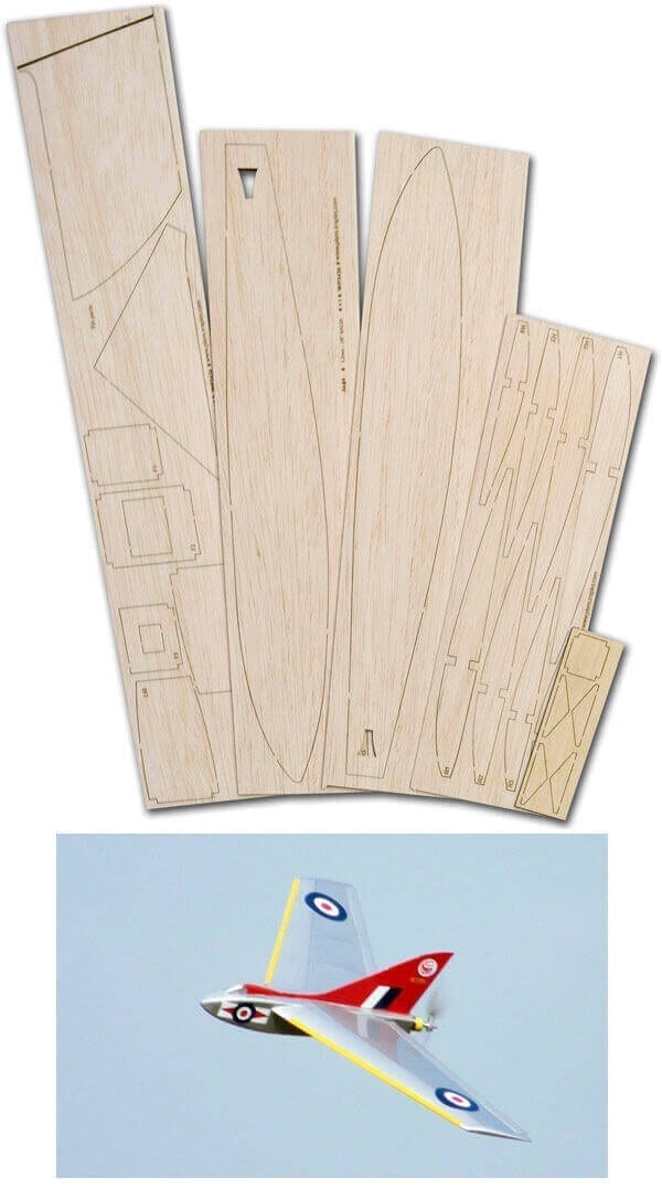 Buzz 400 - Laser Cut Wood Pack