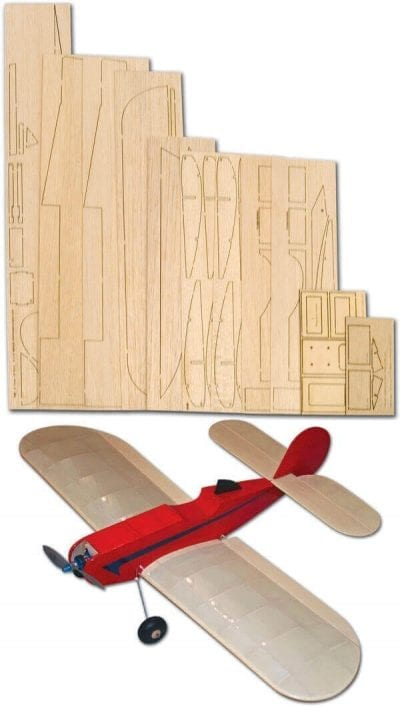 Very Short Plane - Laser Cut Wood Pack