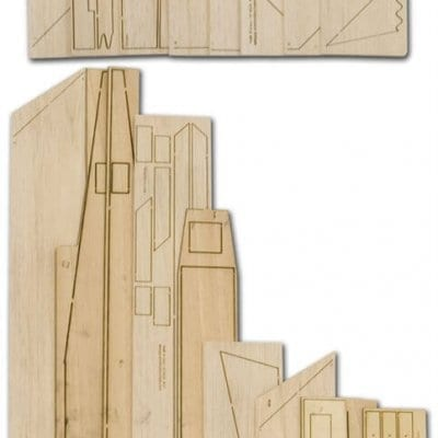 Rafalroo - Laser Cut Wood Pack