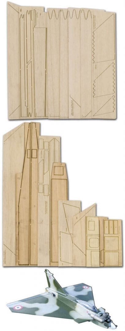 Rafalroo - Laser Cut Wood Pack