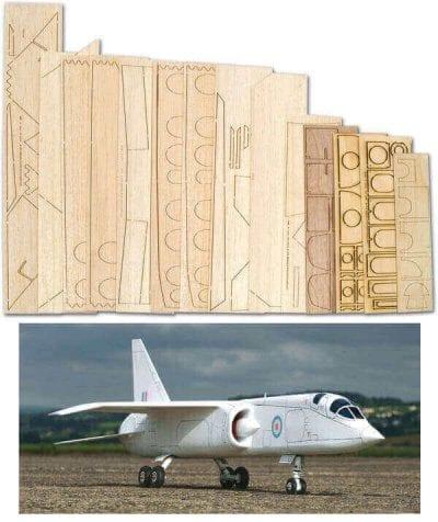 TSR-2 - Laser Cut Foam/Wood Pack