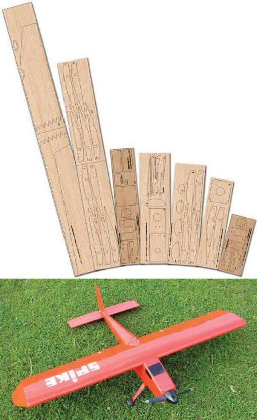 "Aerospike (47.5"") - Laser Cut Wood Pack"
