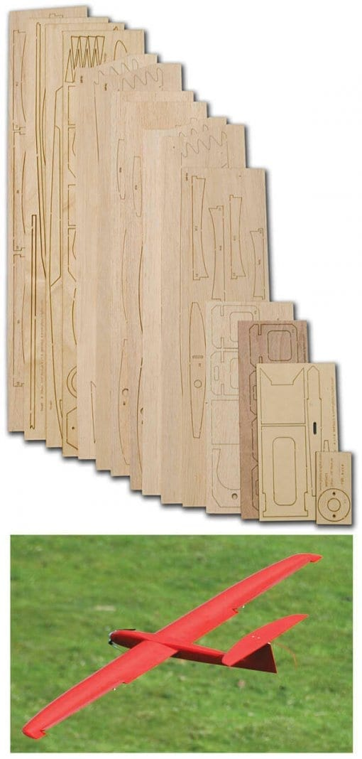 Red-Raw - Laser Cut Wood Pack