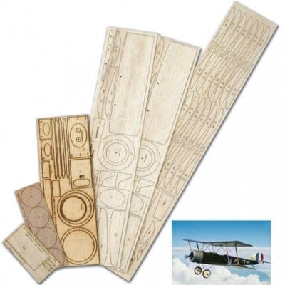 "Sopwith 1.5 Strutter IPS (27"") - Laser Cut Wood Pack"