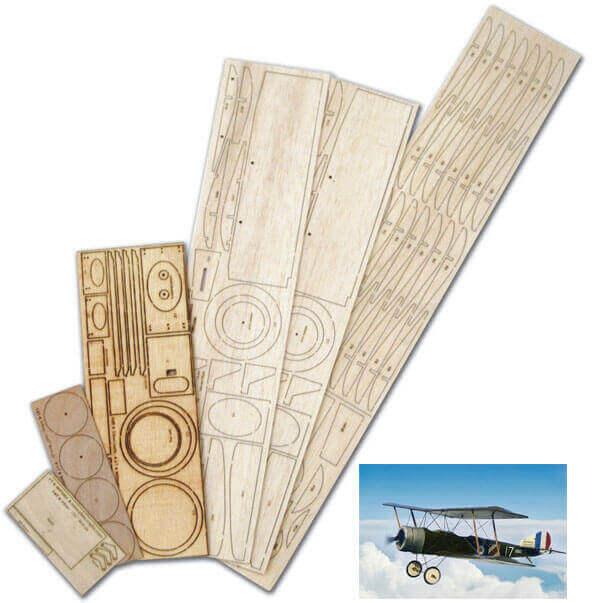 "Sopwith 1.5 Strutter IPS (27"") - Laser Cut Wood Pack"