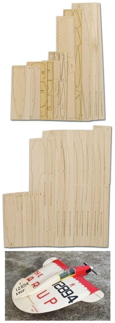 Arup S2 'Heel Lift' - Laser Cut Wood Pack