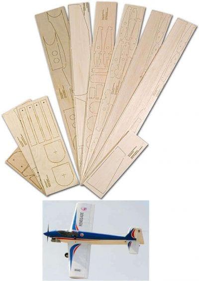 "Renegade (51"") - Laser Cut Wood Pack"