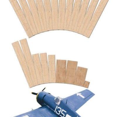 """Grumman F6F-5 Hellcat (64.25"""") - Laser Cut Wood pack"""