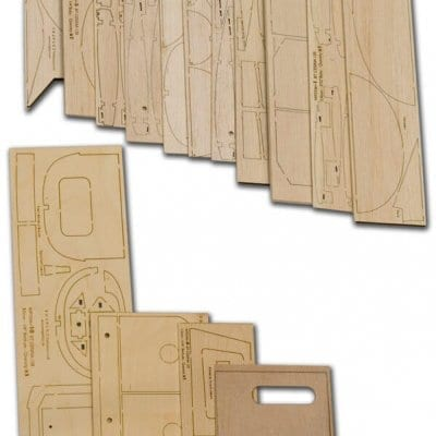 "Cessna 120 (62"") - Laser Cut Wood Pack"