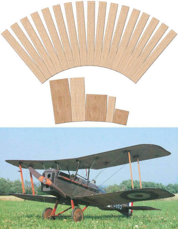 RAF SE5A - Laser Cut Wood Pack