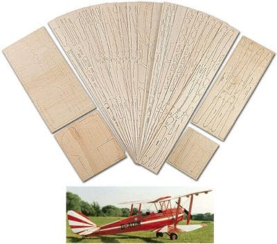 DH82a Tiger Moth - Laser Cut Wood Pack