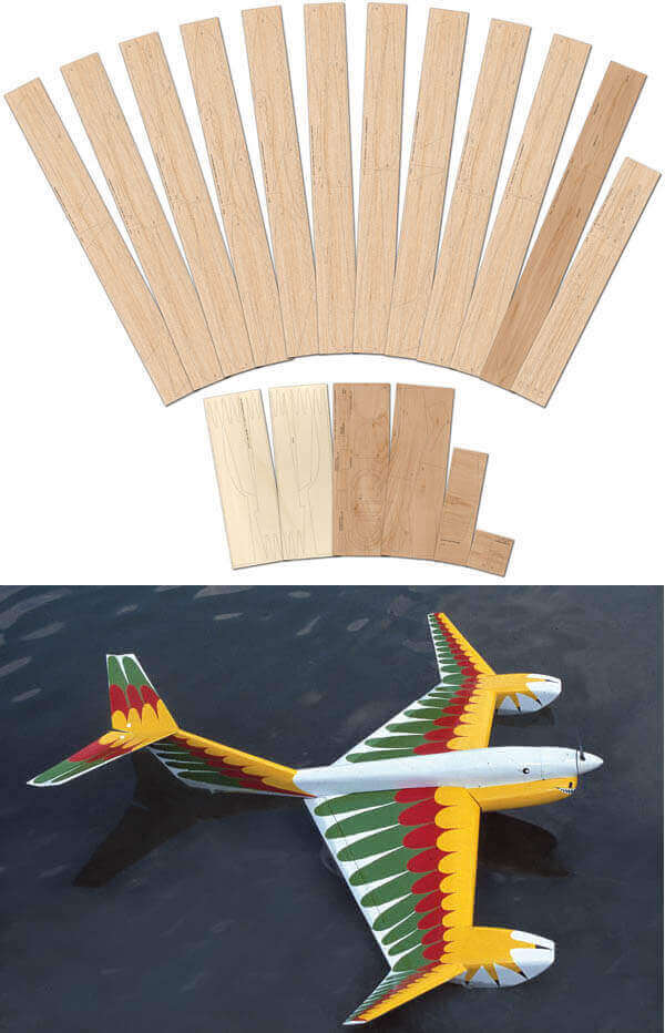Aquabird - Laser Cut Wood Pack