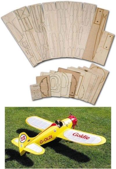 Goldie - Laser Cut Wood Pack