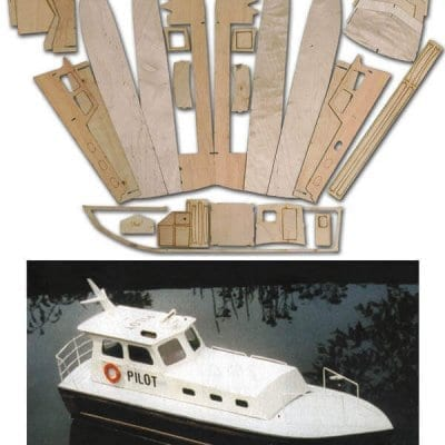 Pilot Boat - Laser Cut Wood Pack