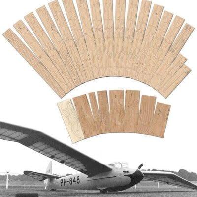"Minimoa (167"") Laser Cut Wood Pack"