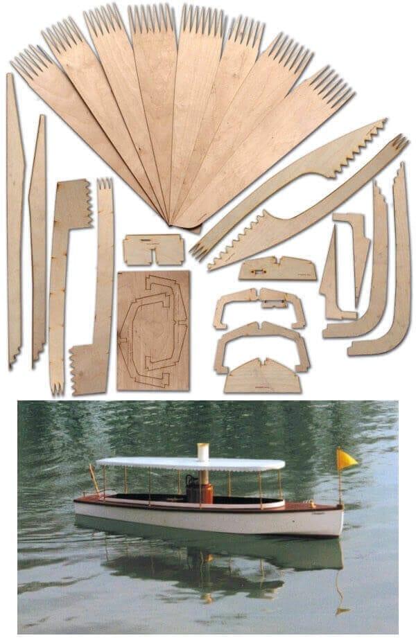 Choupette - Laser Cut Wood Pack