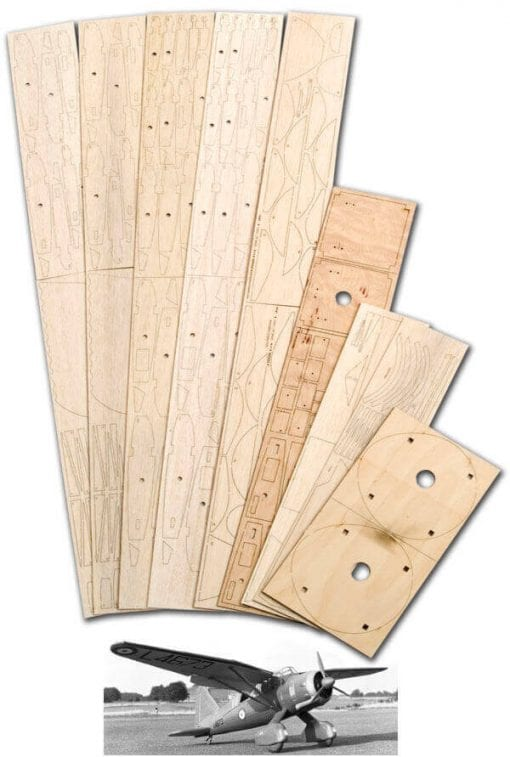 "Westland Lysander (70"") - Laser Cut Wood Pack"