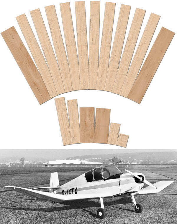 Jodel D112 - Laser Cut Wood Pack
