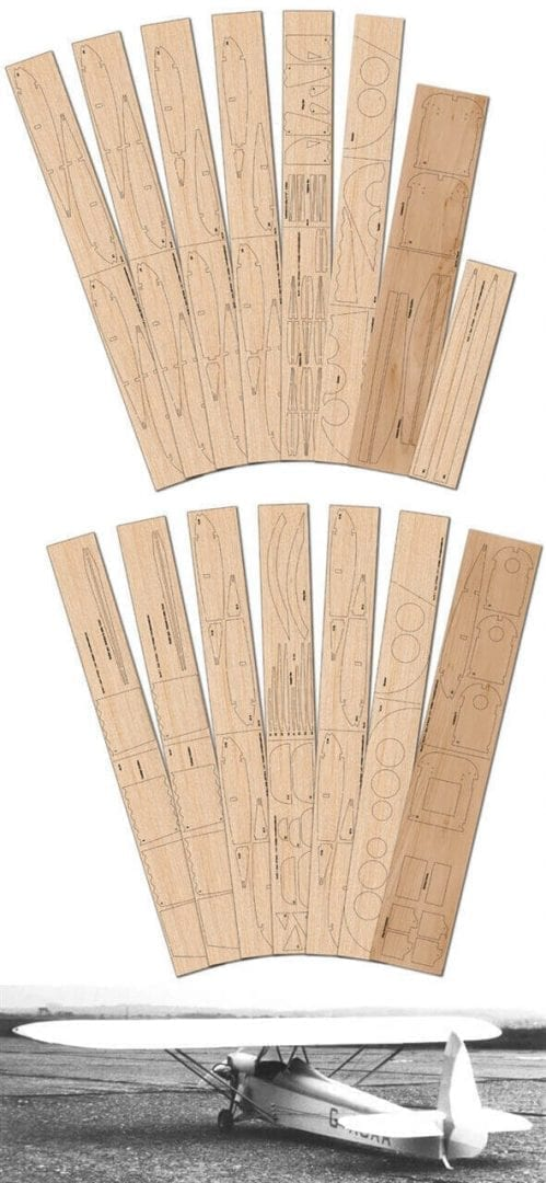Luton Minor - Laser Cut Wood Pack