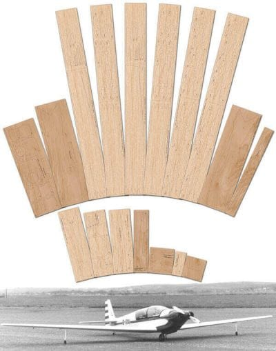 "Fournier RF5 (90"") - Laser Cut Wood Pack"