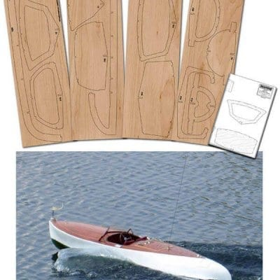 SG&K 22' Gentleman's Runabout - Wood Pack + Plan