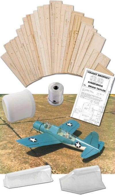"Vought-Sikorsky OS2U Kingfisher (58"") - Set"