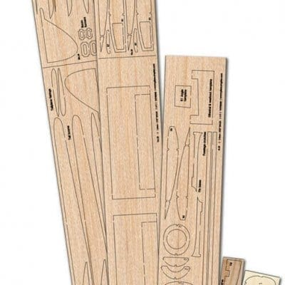 DH Vampire FB5 - Plan And Laser Cut Wood Pack Set