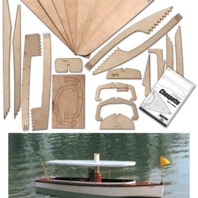 Choupette - Plan & Laser Cut Wood Pack set