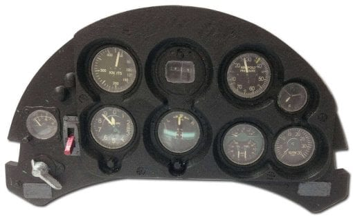 Boeing P-26A Peashooter - 3D Printed Instrument Panel