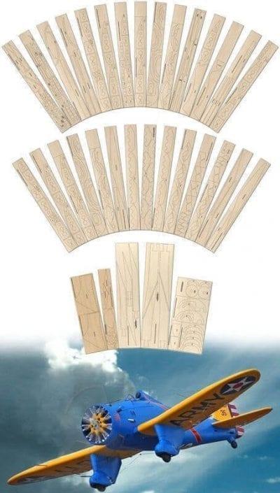 Boeing P-26A Peashooter - Laser Cut Wood Pack