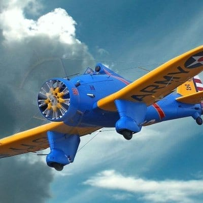 Boeing P-26A Peashooter - Plan (includes FREE article)