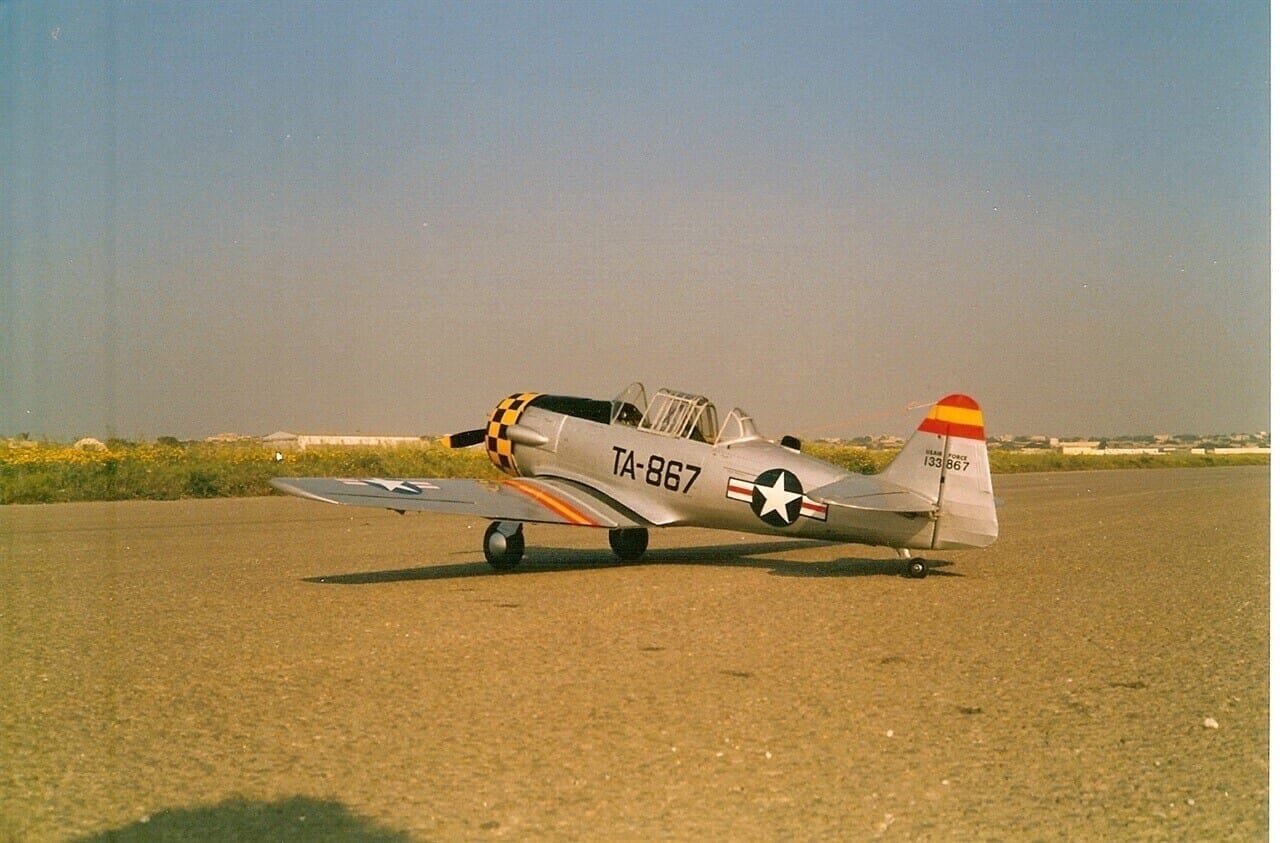 "North American AT-6 Texan/Harvard (68.5"") Plan"