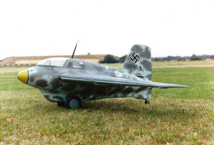 """Messerschmitt Me163 Komet (49.75"""") Plan"""