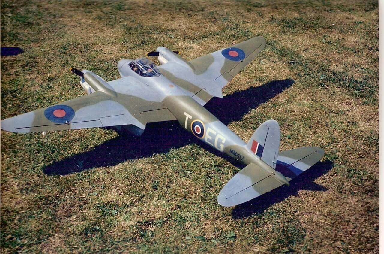 """DH98 Mosquito FB.VI (71"""") Plan"""