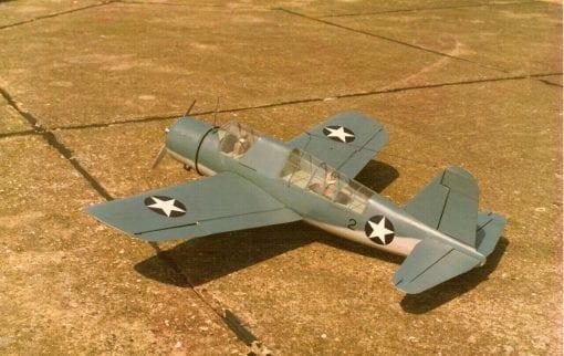 """Vought-Sikorsky OS2U Kingfisher (58"""") Plan"""