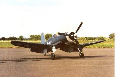 "Chance-Vought F4U-1 Corsair (82"") Plan"
