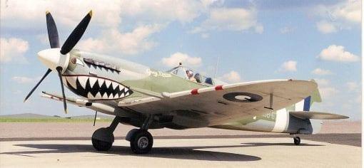 "Supermarine Spitfire Mk.VIII & IX (83"") Plan"