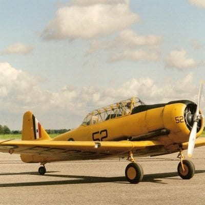 "North American AT-6 Texan/Harvard  (94.25"") Plan"