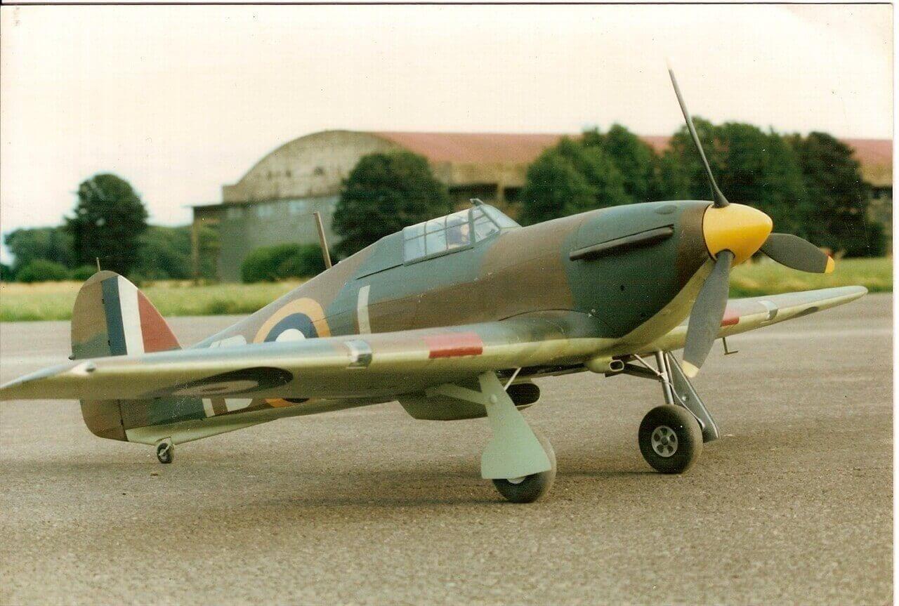 """Hawker Hurricane Mk.1 (70"""") Plan"""
