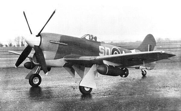 "Hawker Tempest Mk.V (61.5"") Plan"