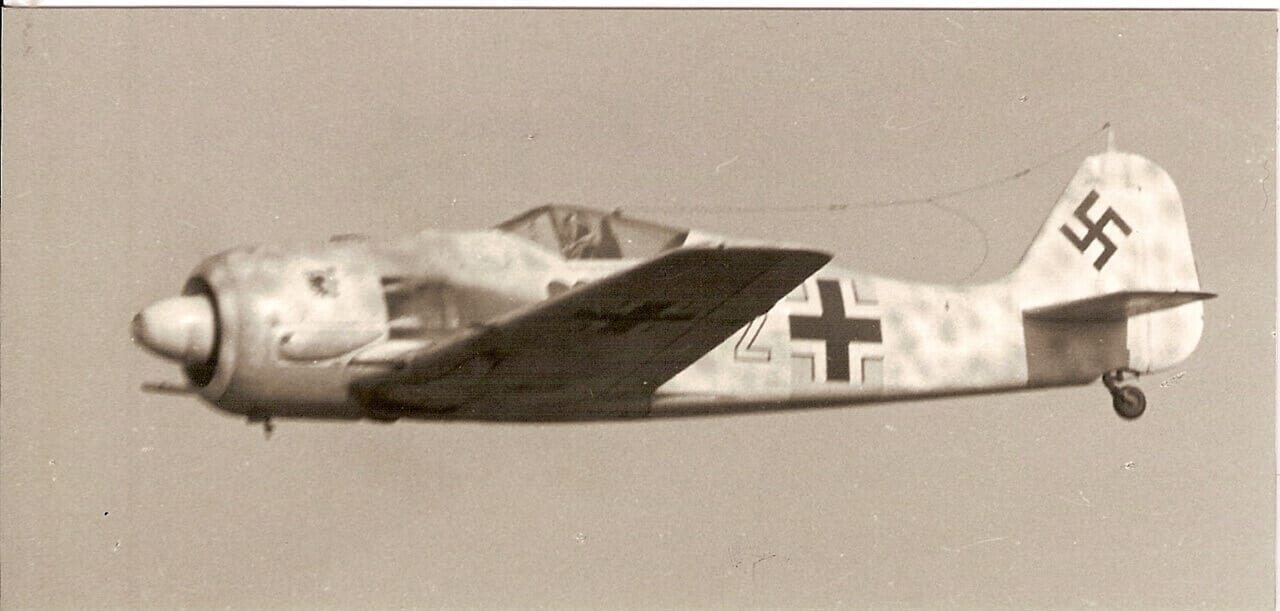 """Focke-Wulf Fw190 A-4 (60.25"""") Plan"""