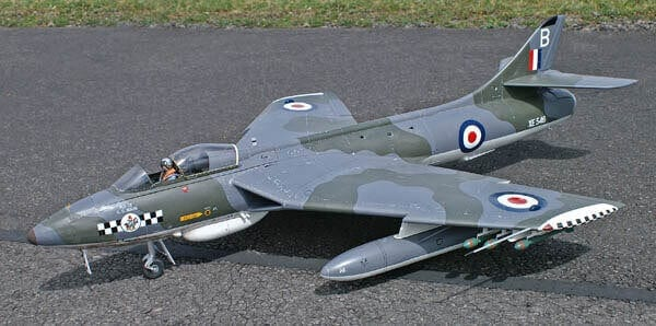 Hawker Hunter FGA.9 Plan